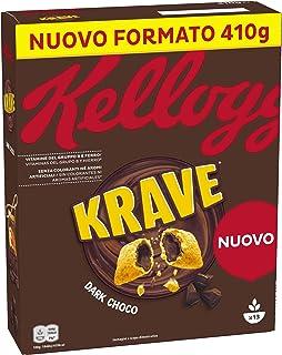 Kellogg's Choco Krave Dark Choco 410 gr – Cassa da 10 confezioni