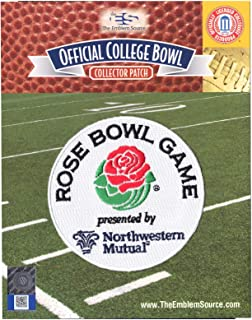 2018 Rose Bowl Game by Northwestern Mutual Jersey Patch Oklahoma Georgia