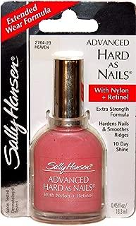 Sally Hansen (1) Bottle Advanced Hard As Nails with Nylon+Retinol Nail Polish Extra Strength Formula - Heaven #2764-23