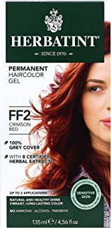 HERBATINT Hair Color Crimson Red, FLASH FASHION CRIMSON RED, 1.25 Pounds