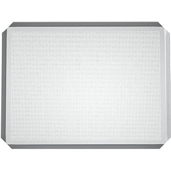 LEHRMANN Lochblech 46,5 x 37,5 cm Backblech Kuchenblech Baguetteblech Pizzablech für Backofen Bosch Neff Siemens