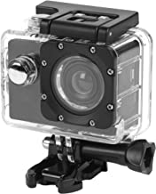 INTEMPO® EE2233STKEU Sync Waterproof Wide Angle IPX8 Action Camera with Self Timer Function, 50/60 Hz Video Output, 1080 P HD Video Resolution with USB Charging Cable