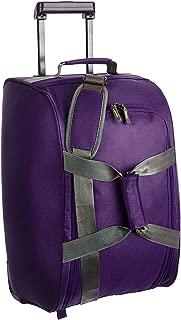 Aristocrat Polyester 35 cms Purple Travel Duffle (DFTDRF65PPL)