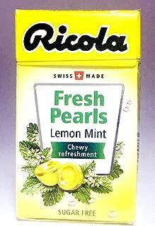 Ricola Herbal Sugar Free Lemon Fresh Mints (Pack of 20)