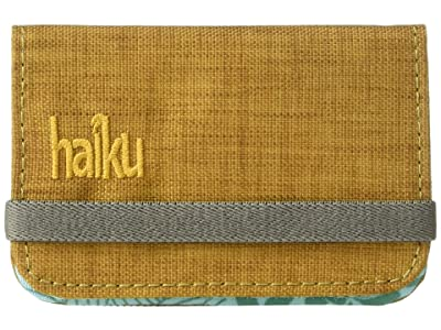 Haiku RFID Mini Wallet (Goldenrod) Wallet Handbags