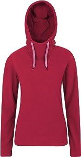 Mountain Warehouse Sycamore Womens Fleece Hoodie - Lightweight Ladies Sweatshirt, Warm Pullover Hoody, Breathable, Microfl...
