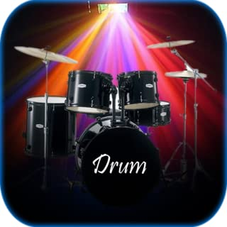 Real Drum with Light Effects
