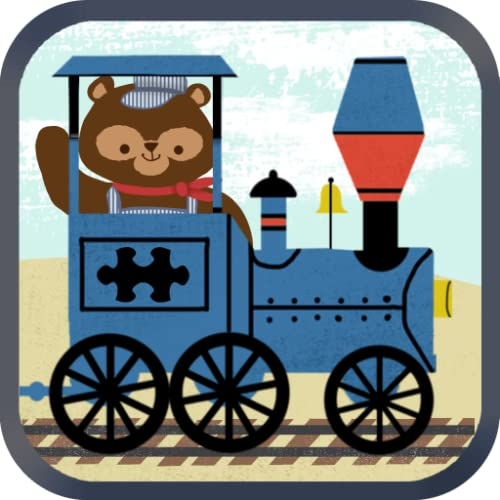 Zug-Spiele für Kinder: Zoo Eisenbahn Auto Puzzles HD - Kostenlos