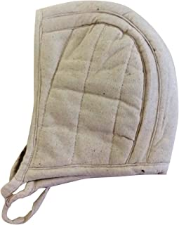 New-Cotton-Inner-Medieval-Helmet-Padded-Reenactment-Armour-Arming-White-Cap