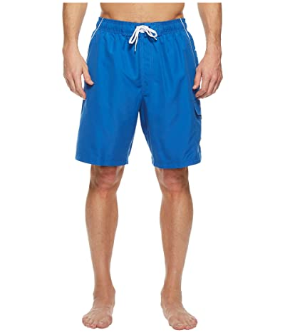 Speedo Marina Volley Swim Trunk (Classic Blue/White) Men