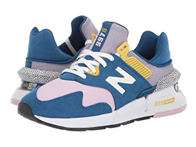 New Balance Classics WS997Jv1 (Andromeda Blue/Oxygen Pink) Women