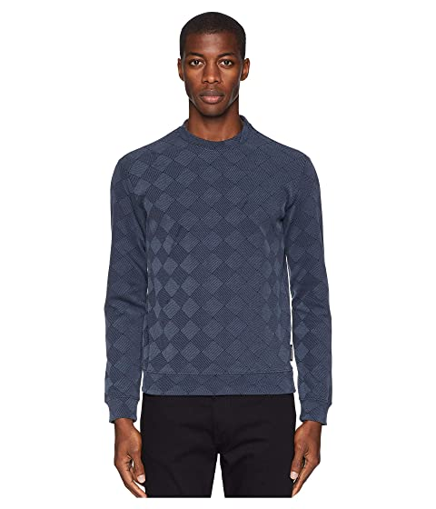 Emporio Armani Diamond Pattern Sweater