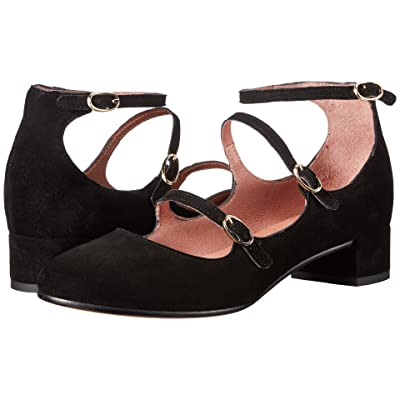 Summit by White Mountain Myrlie (Black Suede) Women