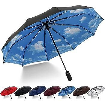 Solide et Durable pour Les Dames FloBle3621A Parapluie avec Ouverture Automatique