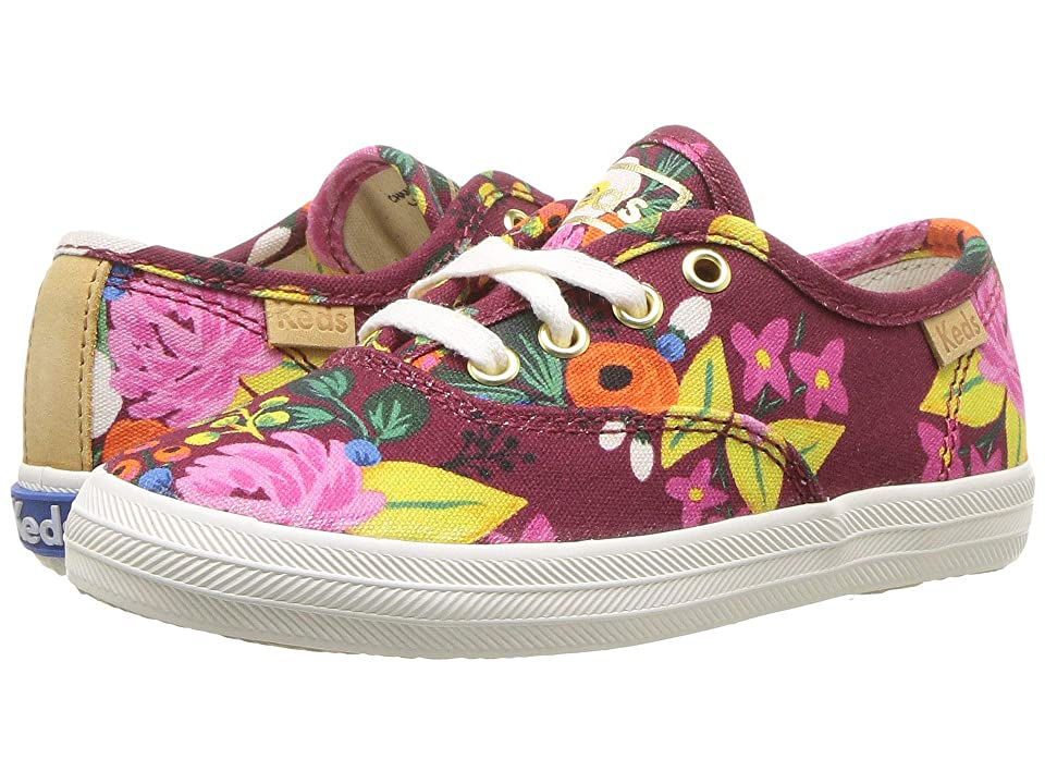 Keds x Rifle Paper Co. Kids Rifle Paper Champion Seasonal (Toddler) (Vintage Blossom) Girls Shoes