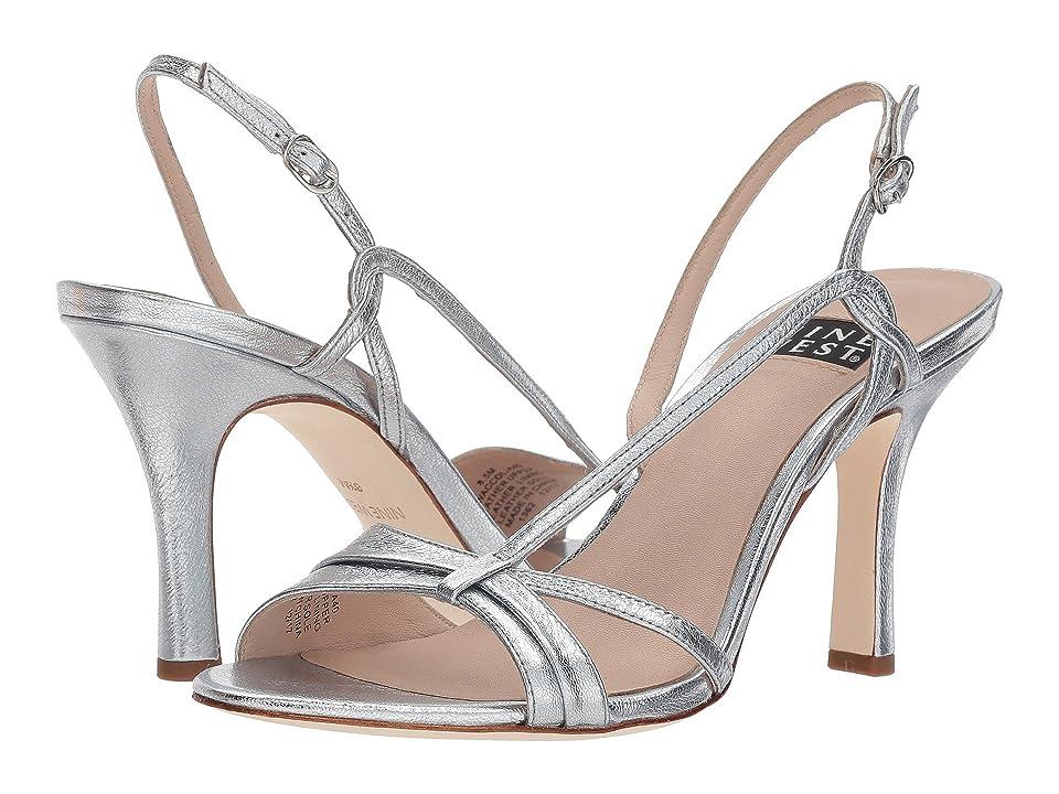 Nine West Accolia 40th Anniversary Heeled Sandal (Silver Metallic) Women