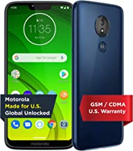 Moto G7 Power with Alexa Push-to-Talk – Unlocked – 32 GB – Marine Blue (US..