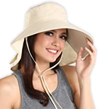 Sun Hat for Women - Safari Hat with UV Protection - Ideal for Hiking, Gardening, Beach Travels, Pool, Boating, Fishing & Outdoor Adventures - Packable Cooling Summer Hat - Blocks 95%+ of UV Rays