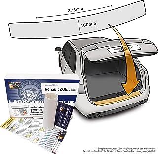 Passend für Renault ZOE ab BJ 2012   Passform Lackschutzfolie als Selbstklebender Ladekantenschutz (Autofolie und Schutzfolie) transparent 150µm