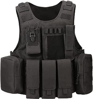 ArcEnCiel Tactical Molle Vest, Black