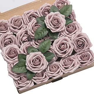 dusky pink roses