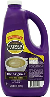 Sponsored Ad - Oregon Chai Original Chai Tea Latte Concentrate, 64 Ounce Jug, Liquid Chai Tea Concentrate, Spiced Black Te...