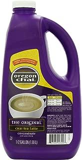 Oregon Chai Original Chai Tea Latte Concentrate, 64 Ounce Jug, Liquid Chai Tea Concentrate, Spiced Black Tea For Home Use, Café, Food Service