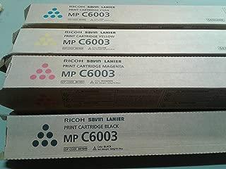 Ricoh 841849, 841852, 841851, 841850 Standard Yield Toner Cartridge Set