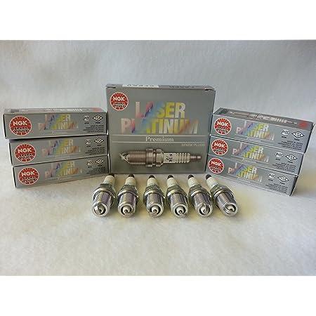 Ngk Laser Platinum Zündkerzen Pfr6q 6458 6 Stück Auto