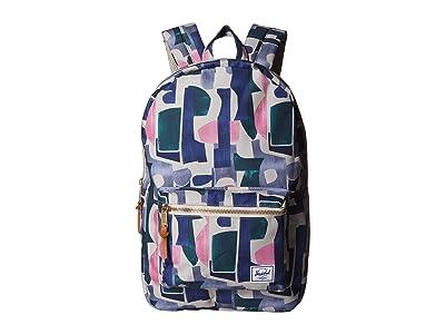Herschel Supply Co. Settlement (Abstract Block) Backpack Bags