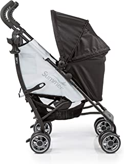 Best Summer 3Dflip Convenience Stroller, Black/Gray – Lightweight Umbrella Stroller with Reversible Seat Design for Rear and Forward Facing, Compact Fold, Adjustable Oversized Canopy and More Reviews
