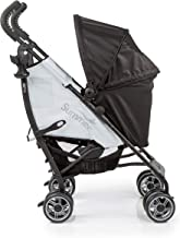 Summer 3Dflip Convenience Stroller, Black/Gray – Lightweight Umbrella Stroller with Reversible Seat Design for Rear and Forward Facing, Compact Fold, Adjustable Oversized Canopy and More