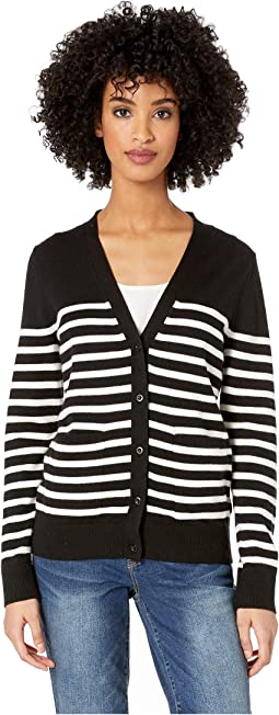 Broome Street Heart Patch Cardigan