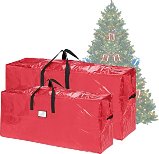 Elf Stor Christmas Storage Bags-Set of 2-For 7.5-16 Ft Artificial Trees-Protect Holiday Decorations, Inflatables from Mois...