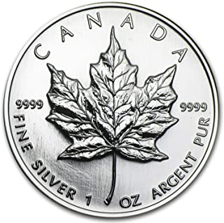 1998 CA Canada 1 oz Silver Maple Leaf BU 1 OZ Brilliant Uncirculated
