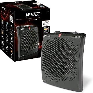 Imetec Living Air M2-400 Ion - Calefactor, Tecnología con Ionizador, 2200 W, Rápido Calentamiento, 3 Niveles de Temperatura, Termostato Ambiente, Función Antihielo, Silencioso