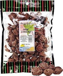 Asia Trans Sweet Seeded Li Hing Mui Crack Seed Plums | Hawaiian Favorite | Naturally Sweet Dried Asian Plum...