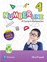 Number Line (Maths) | ICSE Class Fourth | Revised First Edition as per latest CISCE curriculum | By Pearson