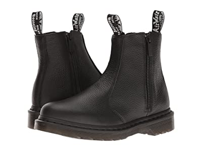 Dr. Martens 2976 w/ Zips (Black Aunt Sally) Women