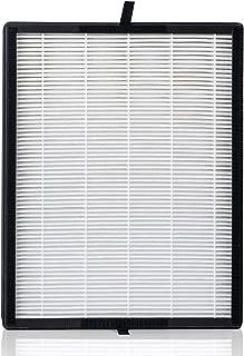 Alen Replacement Air Filter for BreatheSmart Flex or BreatheSmart 45i - HEPA-Silver for Mold, Bacteria, Odors, Seasonal Allergies, Pollen, Dust, Dander & Pet Fur - FL40-Silver-Carbon-1-Pack