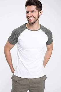 DeFacto Erkek Tişört Slim Fit T-shirt