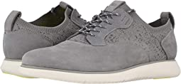 Light Gray Nubuck/White Sole