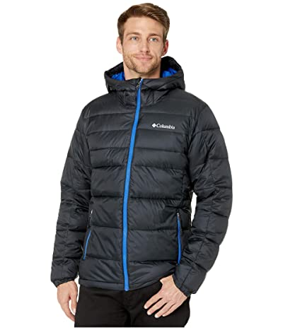 Columbia Buck Buttetm Insulated Hooded Jacket (Black/Azul) Men