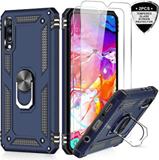 LeYi for Samsung Galaxy A50/A50S/A30S Case with Ring Holder