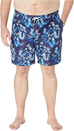 Big and Tall Polyester Traveler Swim Trunks