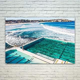 bondi beach canvas
