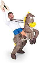 Inflatable Costumes Paul Lamond Games - Disfraz de cowboy con caballo hinchable para adultos