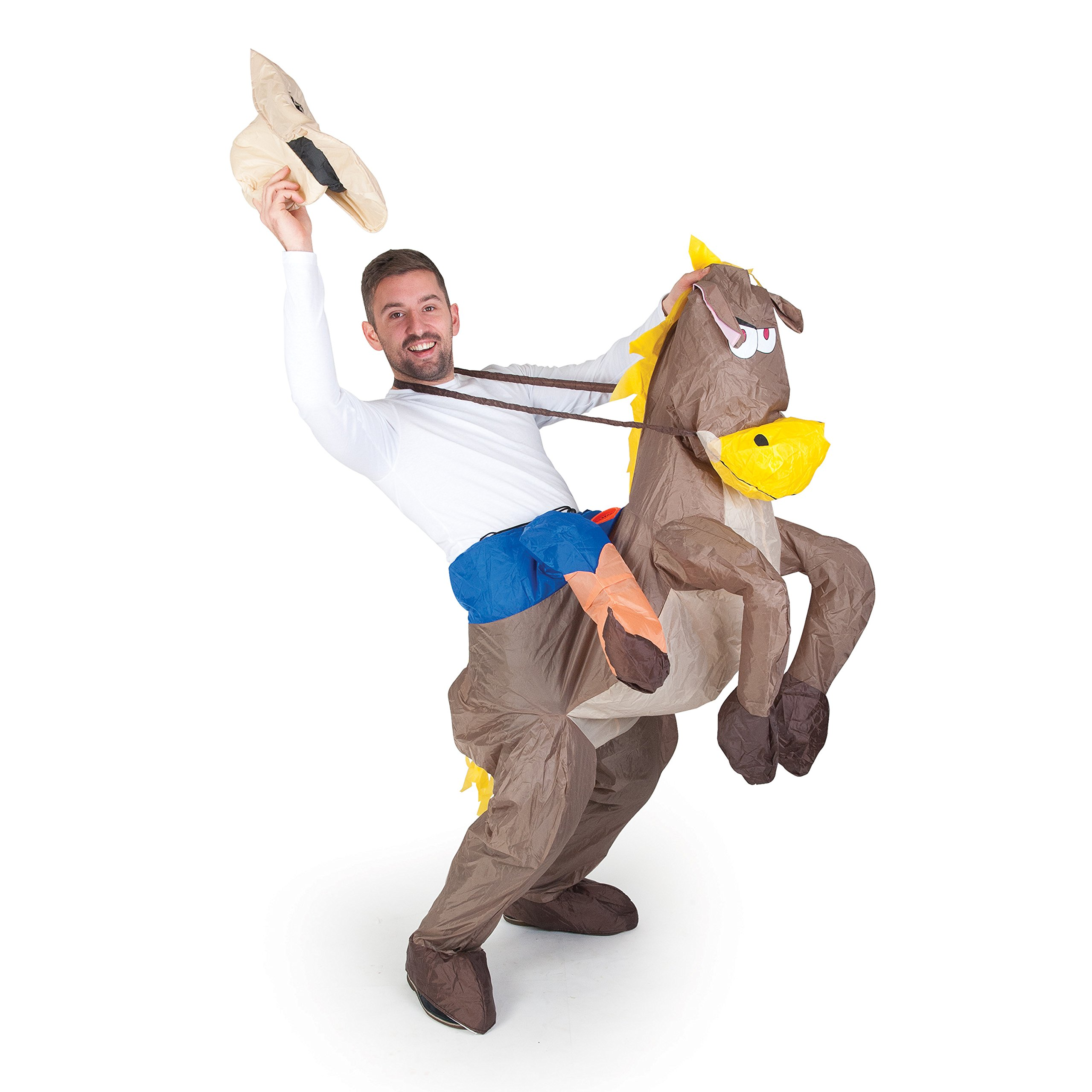 Inflatable Costumes Paul Lamond Games - Disfraz de cowboy con ...