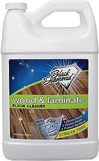 Black Diamond Stoneworks Wood & Laminate Floor Cleaner: For Hardwood, Real, Natural & Engineered Flooring –Biodegradable S...