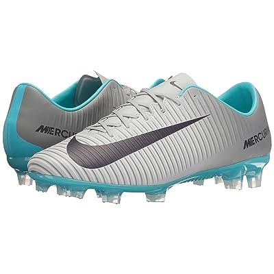 Nike Mercurial Veloce III Dynamic Fit FG (Wolf Grey/Purple Dynasty/Cool Grey) Women
